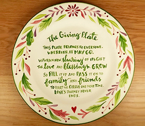Aventura The Giving Plate