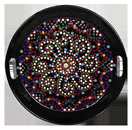 Aventura Mosaic Mandala Tray
