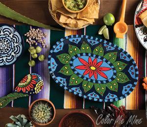Aventura Talavera Tableware