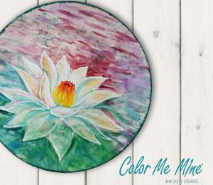 Aventura Lotus Flower Plate