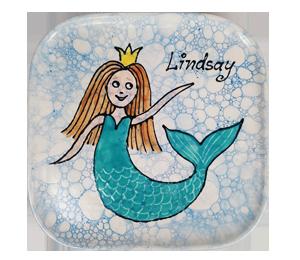 Aventura Mermaid Plate