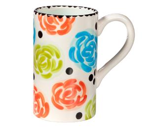 Aventura Simple Floral Mug