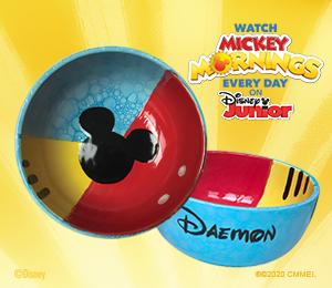 Aventura Mickey's Bubble Bowl
